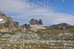 Alpi, regione di Francia, Italia, Svizzera Fotografia Stock