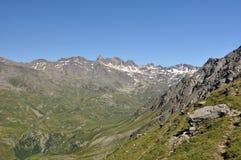 Alpi, regione di Francia, Italia, Svizzera Immagini Stock Libere da Diritti