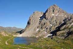 Alpi, regione di Francia, Italia, Svizzera Immagine Stock