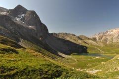 Alpi, regione di Francia, Italia, Svizzera Immagini Stock