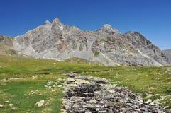 Alpi, regione di Francia, Italia, Svizzera Fotografie Stock Libere da Diritti