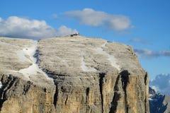Alpi rocciose belle della dolomia Immagine Stock