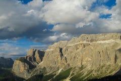 Alpi rocciose belle della dolomia Immagine Stock Libera da Diritti