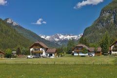 Alpi romantiche del paesaggio, Austria Immagini Stock