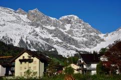 Alpi sceniche Fotografia Stock