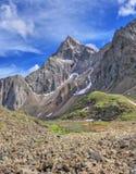 Alpi siberiane Intervallo di Tunka Montagne di Sayan Fotografia Stock