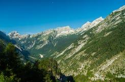 Alpi slovene Immagini Stock
