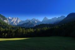 Alpi slovene, Slovenia, Europa Immagini Stock Libere da Diritti