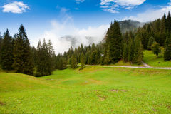 Alpi in Slovenia Immagini Stock Libere da Diritti
