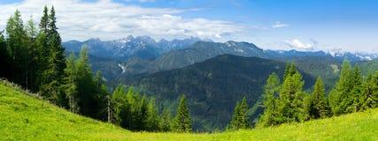 Alpi in Slovenia Fotografie Stock Libere da Diritti