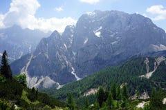 Alpi in Slovenia Immagine Stock Libera da Diritti