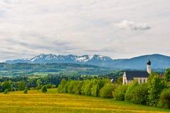 Alpi Snow-capped Immagini Stock Libere da Diritti