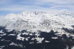 Alpi sopra Santa Catarina, Italia Immagine Stock