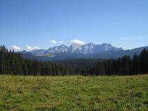 Alpi stupefacenti Fotografia Stock