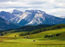 Alpi stupefacenti della dolomia Immagini Stock