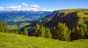 Alpi stupefacenti della dolomia Immagine Stock Libera da Diritti