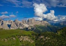 Alpi stupefacenti della dolomia Fotografia Stock Libera da Diritti