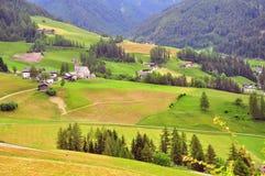 Alpi su estate Fotografia Stock