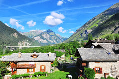 Alpi su estate Fotografie Stock Libere da Diritti