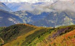 Alpi su estate Immagine Stock Libera da Diritti