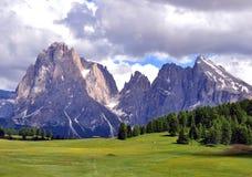 Alpi su estate, dolomia Fotografia Stock Libera da Diritti
