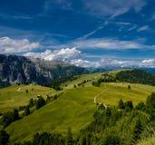 Alpi, sud del Tirolo, Italia Immagini Stock Libere da Diritti