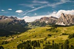 Alpi, sud del Tirolo, Italia Fotografia Stock Libera da Diritti