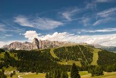 Alpi, sud del Tirolo, Italia Immagine Stock
