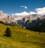 Alpi, sud del Tirolo, Italia Fotografie Stock Libere da Diritti