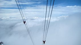 Alpi in Svizzera Fotografie Stock