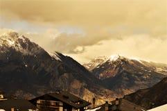 Alpi in Svizzera Immagine Stock