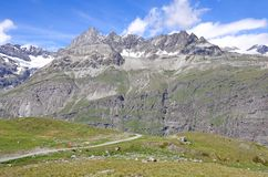 Alpi svizzere. Fotografia Stock Libera da Diritti