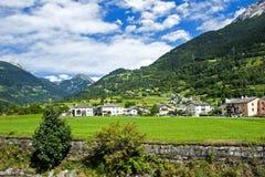 In alpi svizzere Fotografia Stock