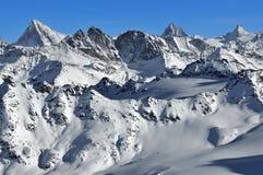 Alpi svizzere: Fotografia Stock