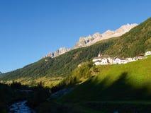 Alpi svizzere, Bedretto Walley Immagini Stock