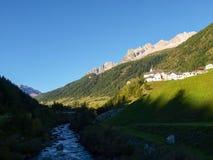 Alpi svizzere, Bedretto Walley Fotografia Stock Libera da Diritti