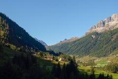 Alpi svizzere, Bedretto Walley Immagine Stock
