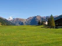 Alpi svizzere, Berner Oberland Fotografia Stock Libera da Diritti