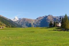 Alpi svizzere, Berner Oberland Immagini Stock Libere da Diritti