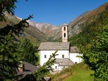 Alpi svizzere, Blenio Walley Fotografia Stock