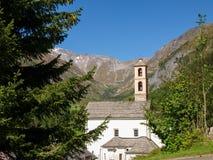 Alpi svizzere, Blenio Walley Fotografie Stock Libere da Diritti