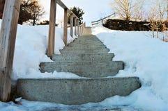 Alpi svizzere e percorso romantico della scala Immagine Stock Libera da Diritti