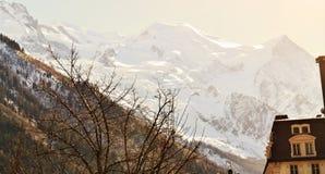 Alpi svizzere ed orizzonte Fotografia Stock Libera da Diritti