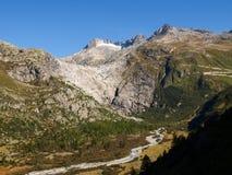 Alpi svizzere, ghiacciaio di Furka Immagine Stock