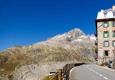 Alpi svizzere, ghiacciaio di Furka Immagini Stock