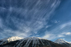 Alpi svizzere HDR Fotografia Stock