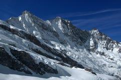 Alpi svizzere: Il gruppo di Mischabel Immagini Stock Libere da Diritti