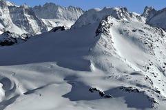 Alpi svizzere. Il Rosablanche Immagini Stock Libere da Diritti