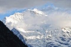 Alpi svizzere a Interlaken Immagine Stock