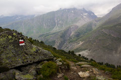 Alpi svizzere Jungfrau-Aletsch Immagine Stock Libera da Diritti